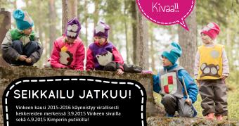 Season 3 starts 3.9.2015! Kausi käynnistyy!